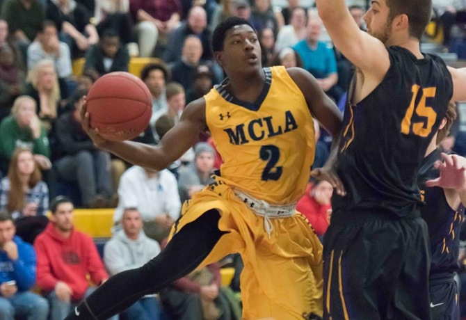 Monroe makes plays late to lead MCLA to 61-59 win over Sarah Lawrence in Ken Wright consolation game
