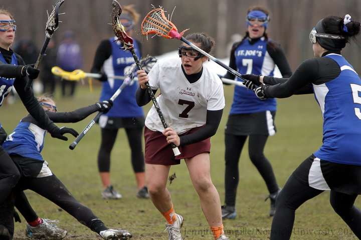 Women's Lacrosse: Cadets Fall 17-4 to Colby in NCAA