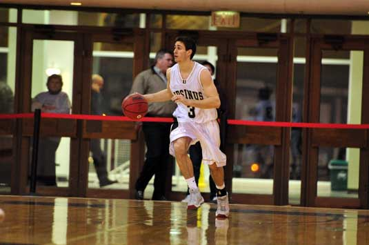 Krasna hits game-winner for MBB in win over Haverford, 64-62