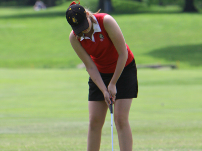 The Ferris State women's golf team is ranked ninth nationally in the 2009-10 Division II Preseason Coaches' Poll.