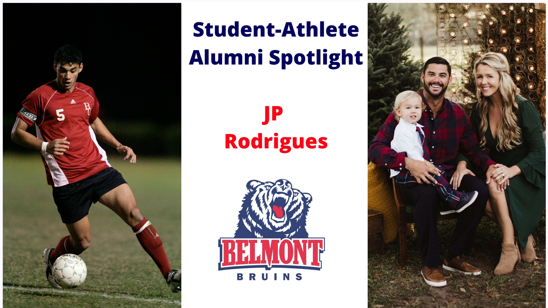 Student-Athlete Alumni Spotlight -- JP Rodrigues