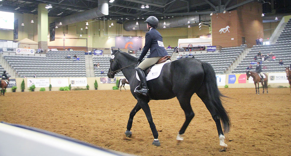 Riding Opens Action at IHSA National Championships