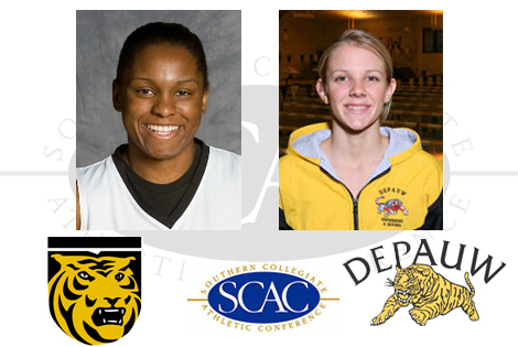 SCAC Nominates Two For NCAA Woman Of The Year Award