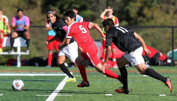 Men's Soccer Bested at Capital