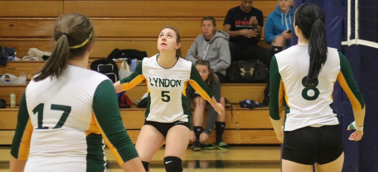 Hornet volleyball season comes to a close at SUNY Canton tri-match