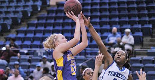 Hayes, Golden Eagles escape with OVC win at Tennessee State