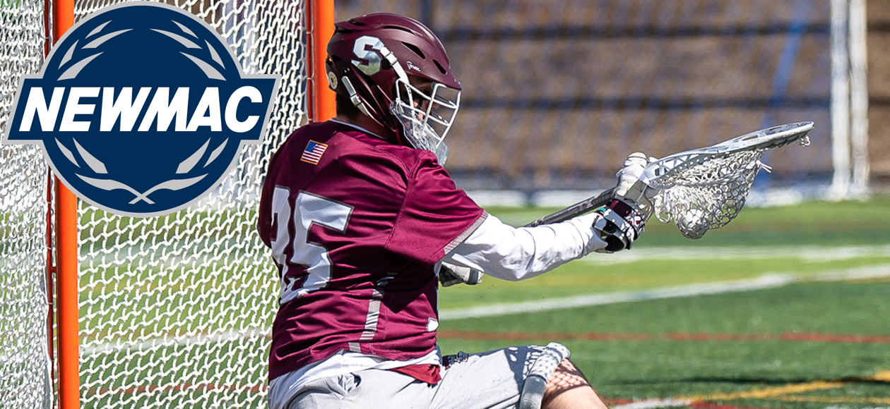Finerty Picked as NEWMAC Men's Lacrosse Defensive Athlete of the Week