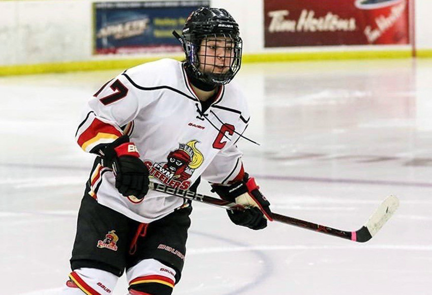 Lloydminster Steelers captain Mackenzie Dachuk has committed to MacEwan for next season.