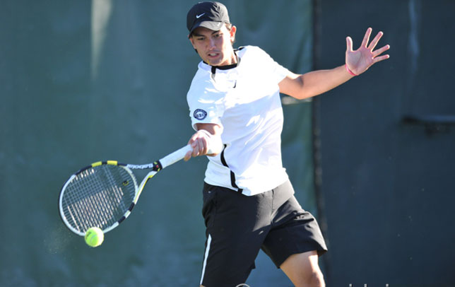 No. 50 Santa Clara Men's Tennis Falls to No. 6 Stanford