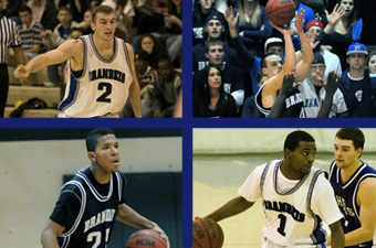 Brandeis men's basketball places four on All-UAA team
