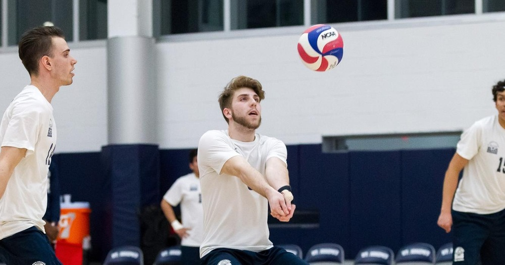 Men's Volleyball Defeats Sarah Lawrence to Split Regular Season Finale
