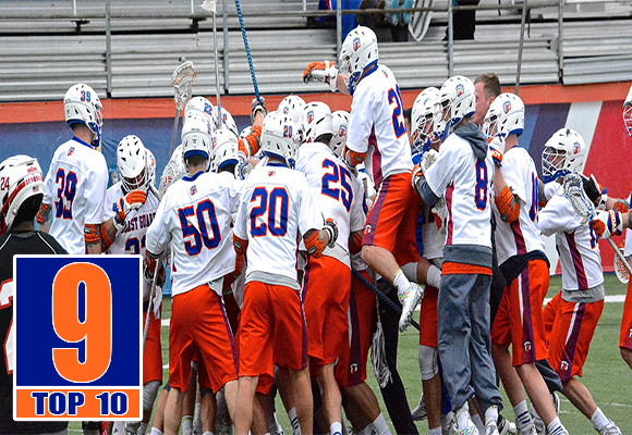 TOP MOMENT #9 - MEN'S LACROSSE IMPROVES QUICKLY