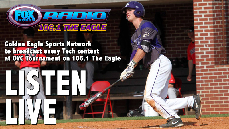Golden Eagle Sports Network to broadcast Tech OVC Baseball Tournament games