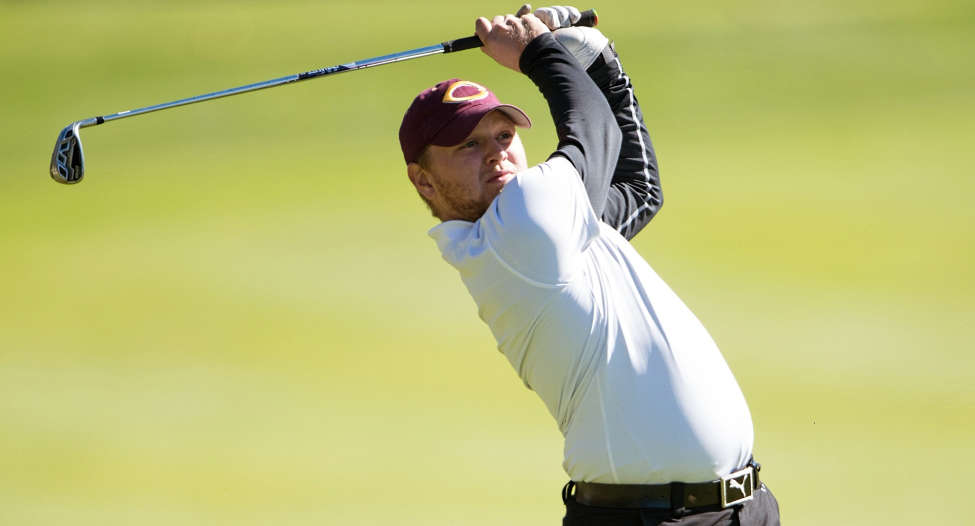 Nathaniel Kahlbaugh led the Cobbers at the spring opener in Missouri as he shot a 73-78 and finished in a tie for 16th place at the NSIC Preview.
