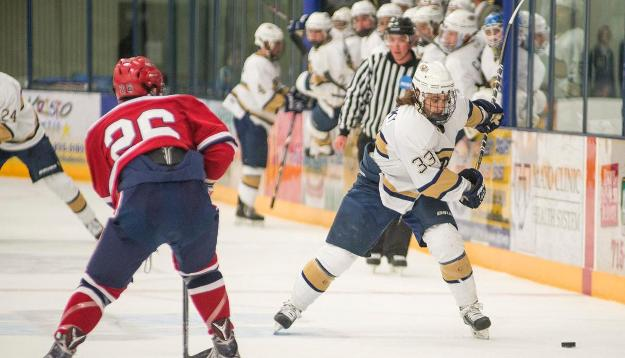 Men's Hockey Takes Down Cobbers 6-3 to Remain Unbeaten