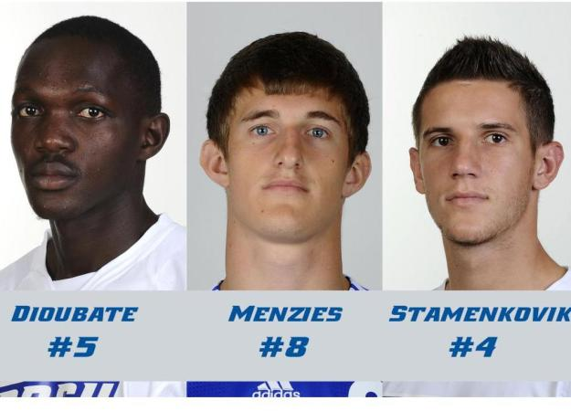 Men's Soccer Names 2011 Captains