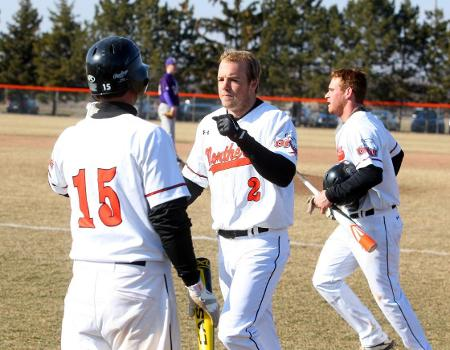 Belliveau homers as Baseball tops Defiance 5-4 for seventh straight win