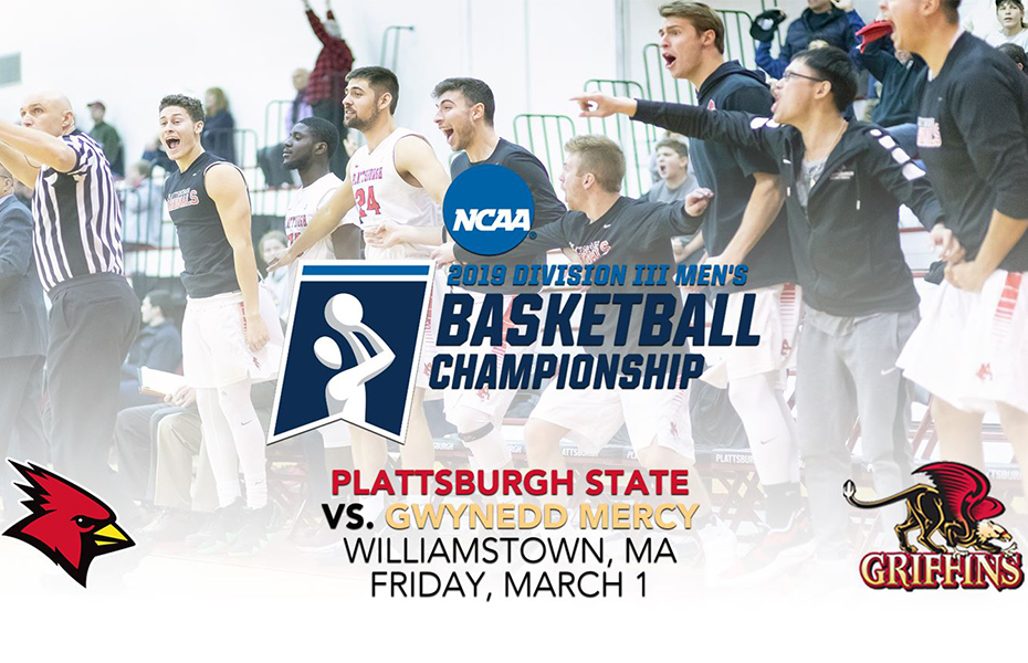 No. 24 Plattsburgh Men's Basketball Receives At Large Bid For 2019 NCAA DIII Tournament