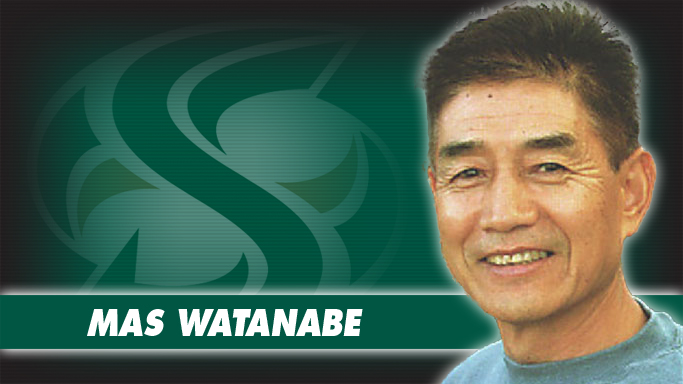 HALL OF FAMER MAS WATANABE JOINS GYMNASTICS STAFF