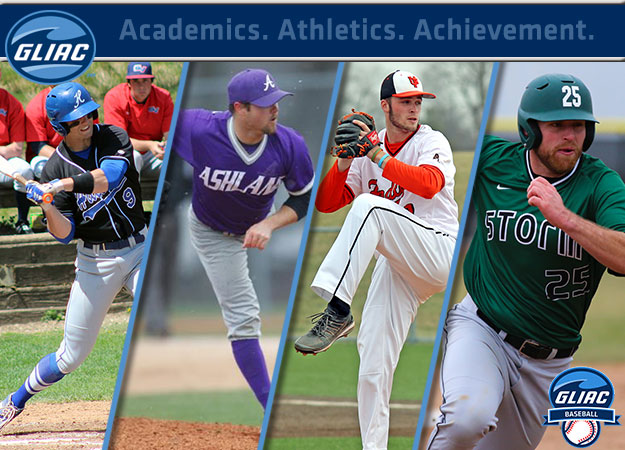 GLIAC Baseball Athletes of the Week - Week 11