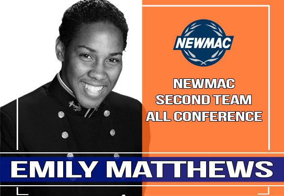 Matthews Named to All-NEWMAC Team