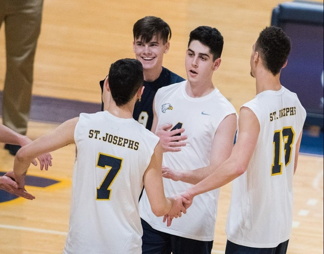 Men's Volleyball Earns Sweeps Over Sarah Lawrence and Yeshiva