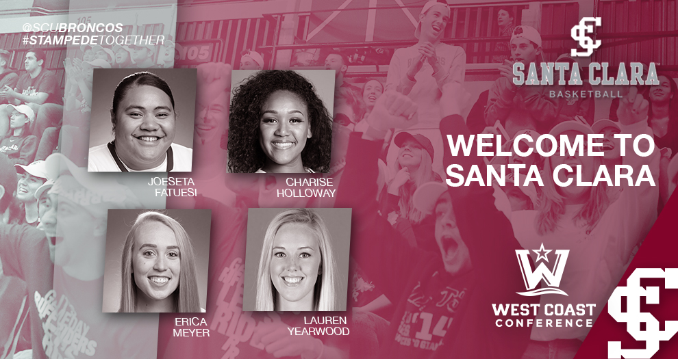 Women's Basketball Welcomes Four Transfers