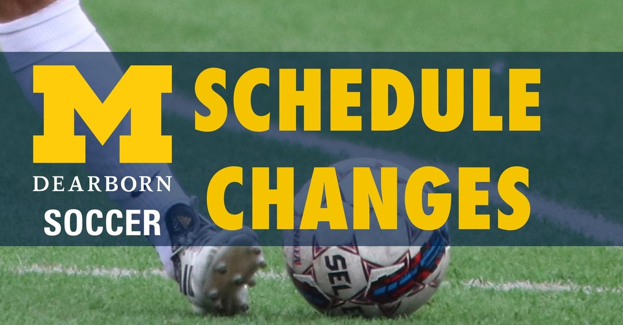 Game time, location change for Saturday Soccer DH