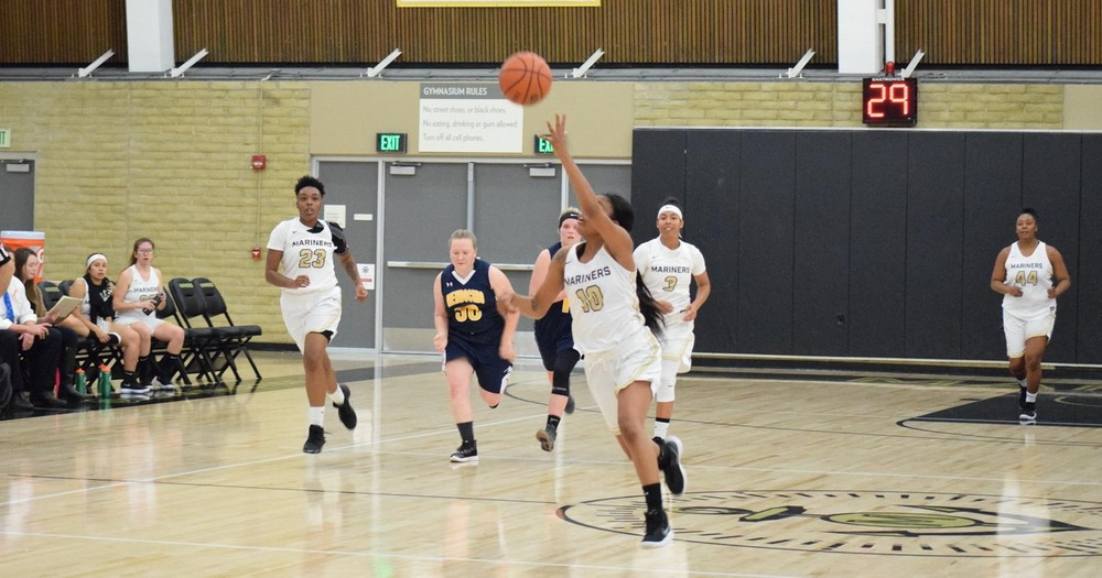 Mariners' Women's Basketball Suffers First Conference Loss To Laney College 63-52