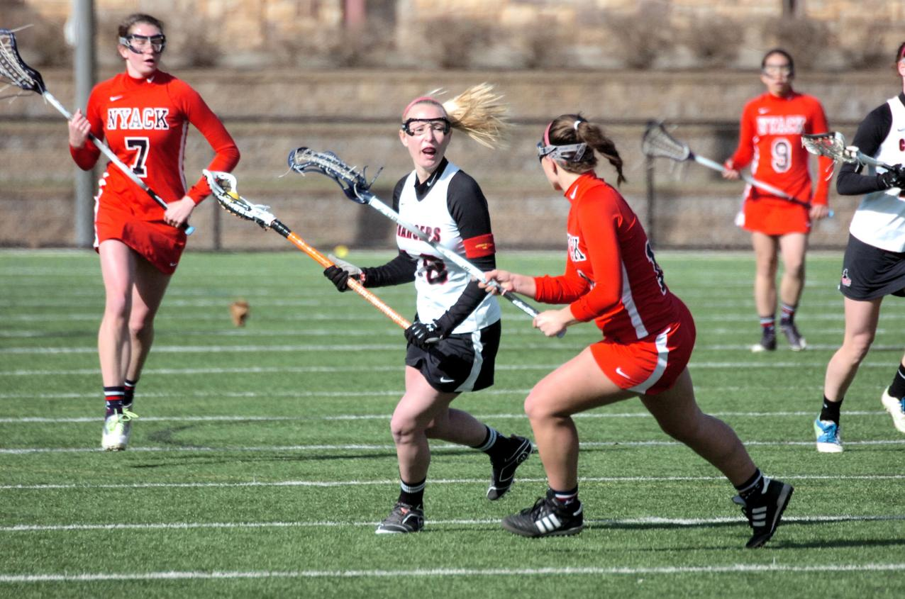 WOMEN'S LACROSSE AVENGE LOSS TO GEORGIAN COURT UNIVERSITY