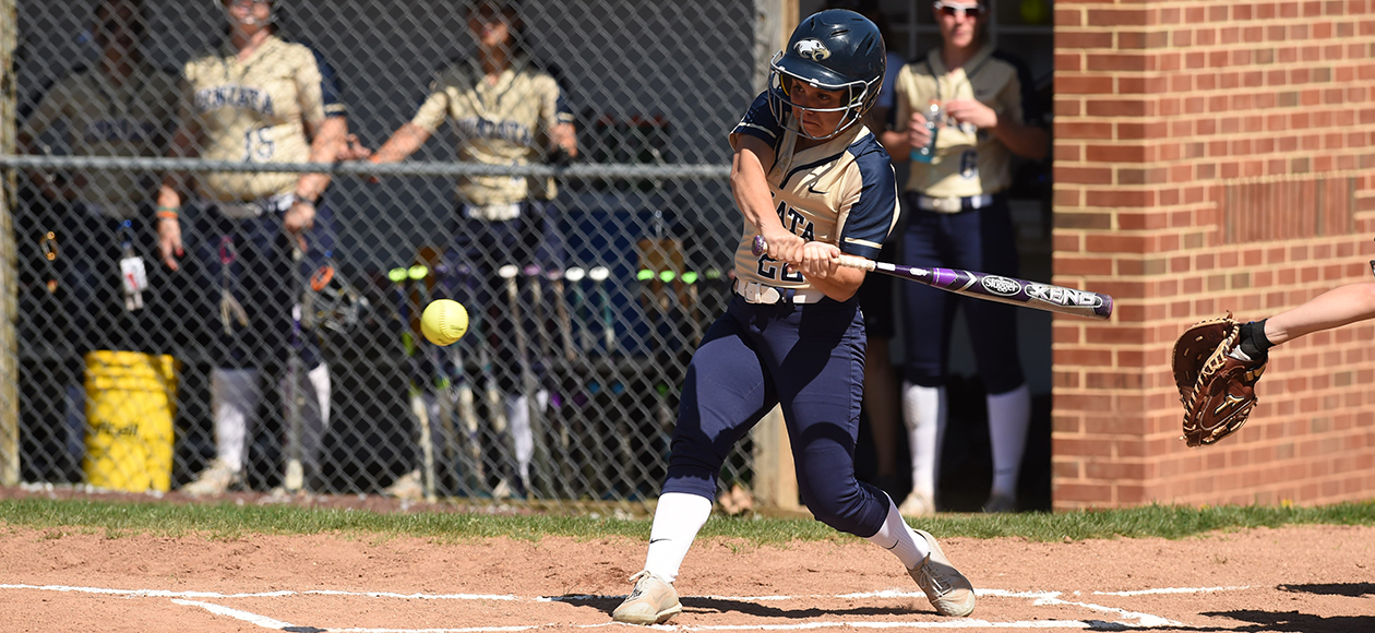 Alyssa Shedlock was 2-for-3 with a triple, two runs scored, and three runs batted in in Game 2.