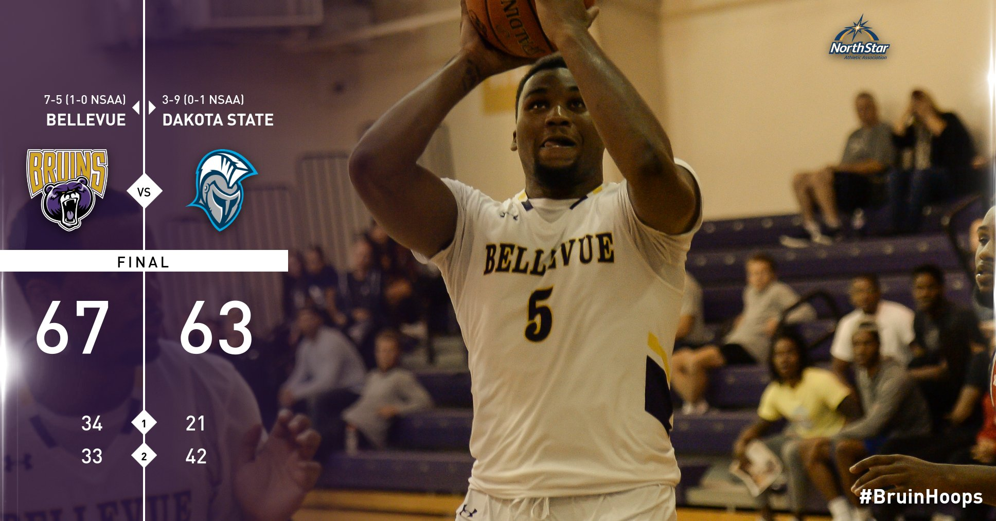 BU opens NSAA play with 67-63 win over Trojans