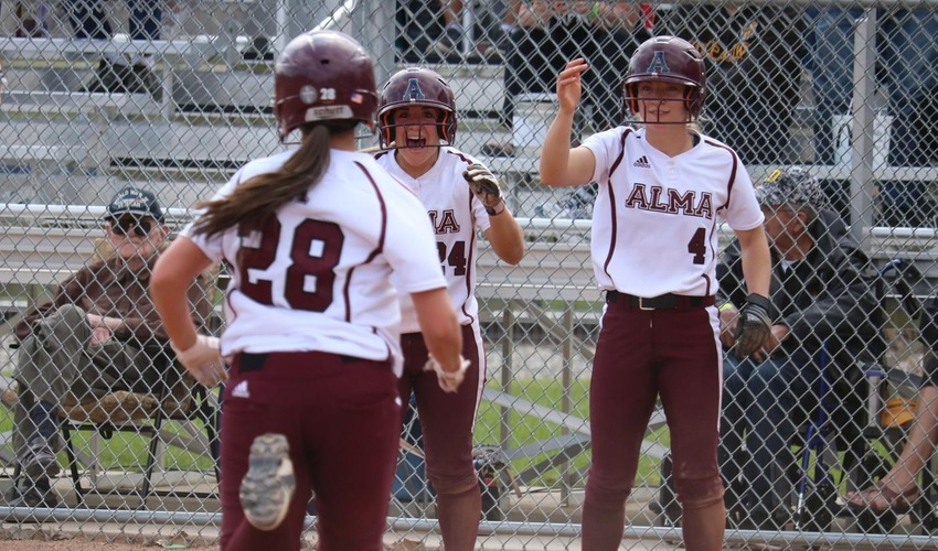 Alma Wins Opening Game of NCAA Tournament 9-1 over DePauw