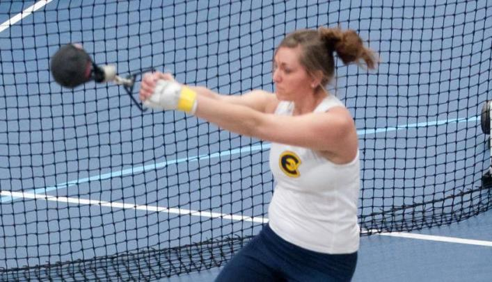 Women's Indoor Track & Field Ties for Second at Pointer Invite