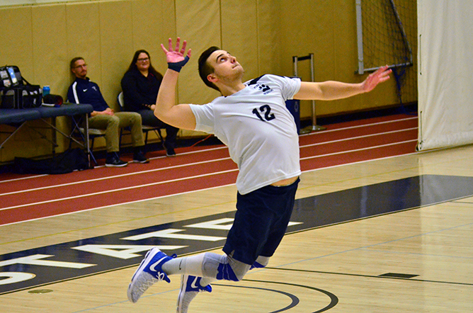 Men's Volleyball Falls to Wittenberg