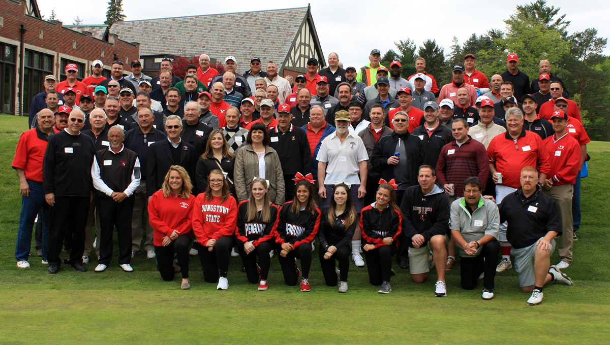The YSU Football Alumni Golf Outing is set for May 11.