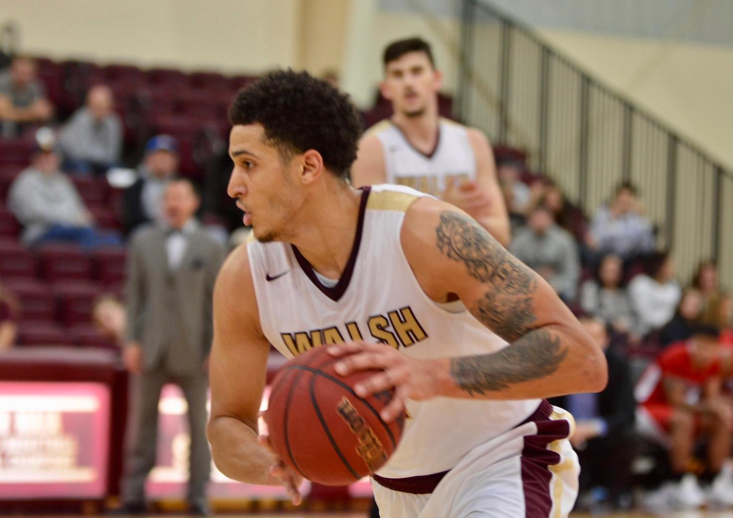Walsh Swats Bluefield State 75-63