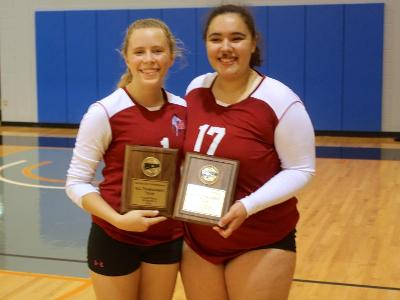 Women's Volleyball: Ordorisio and Drummond named to All-Tournament Team