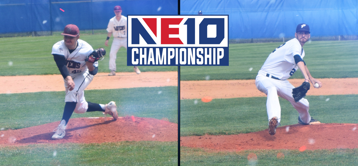 Franklin Pierce, Southern New Hampshire Post Wins on Day One of NE10 Baseball Championship Weekend