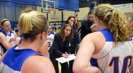 Falcon women look sharp in win over Benedictine