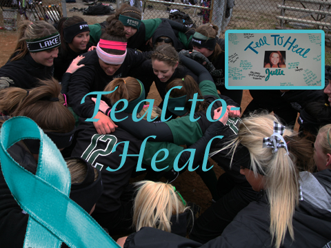Storm Softball Shows Support with Teal-to-Heal Weekend