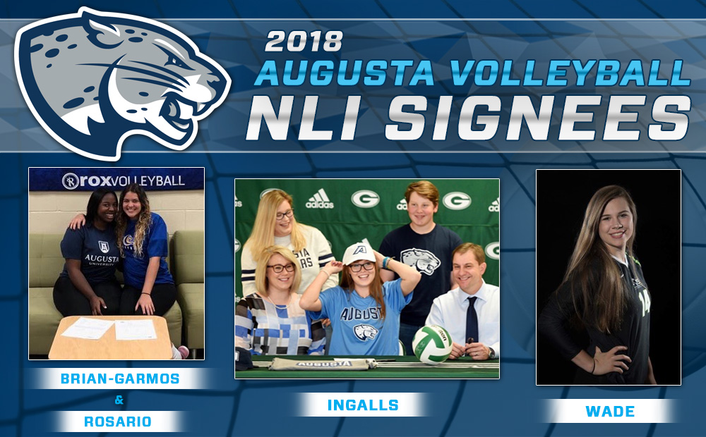 Jags Volleyball Inks Four In NLI Period