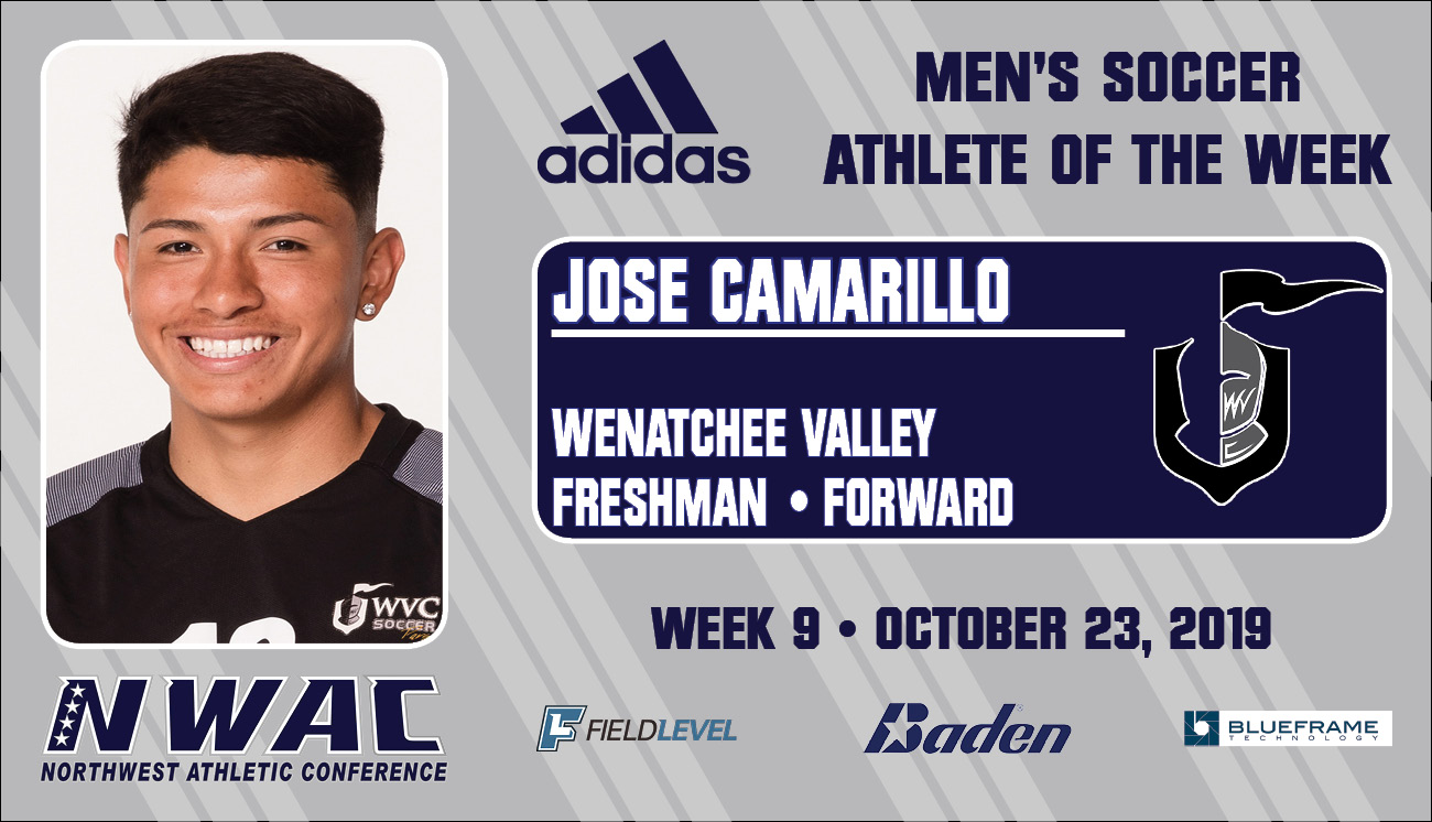Adidas Athlete of the Week graphic for JOSE CAMARILLO