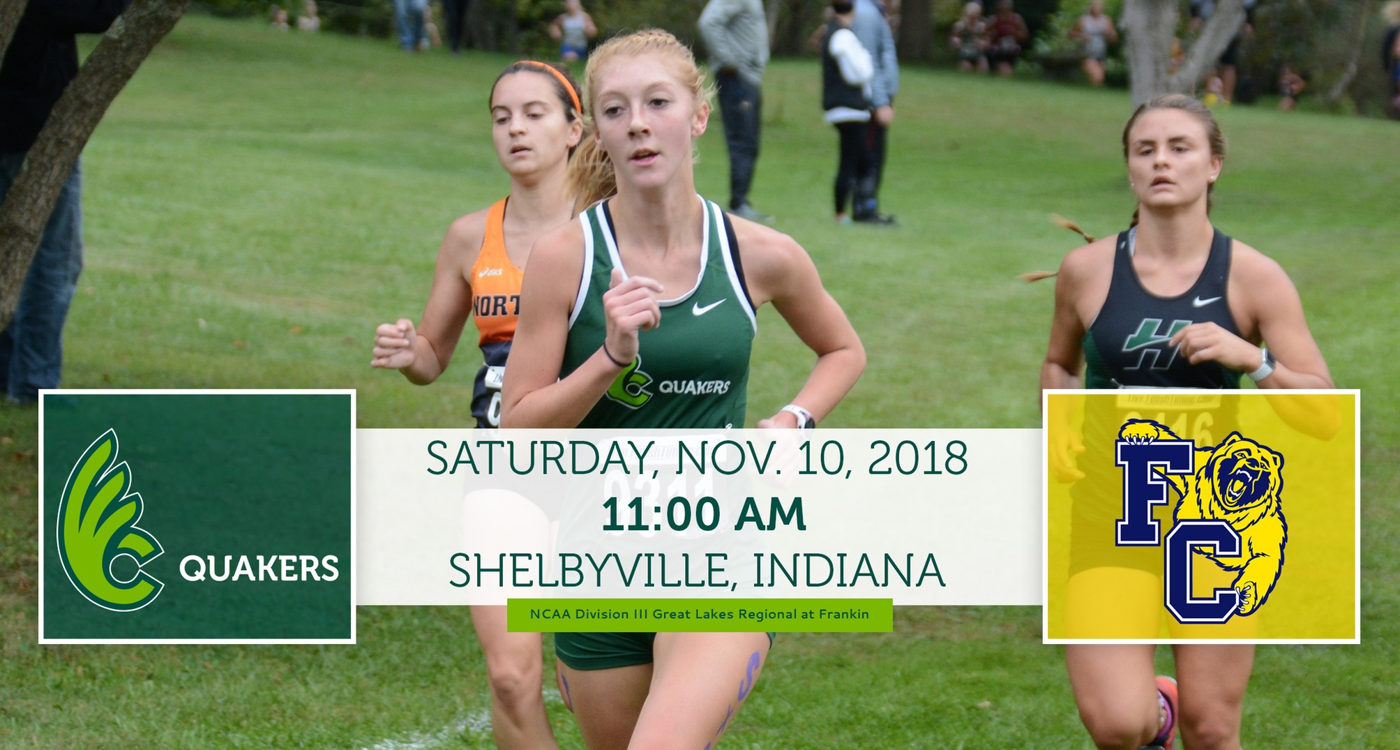 Women's Cross Country Heads to NCAA Great Lakes Regional at Franklin Saturday