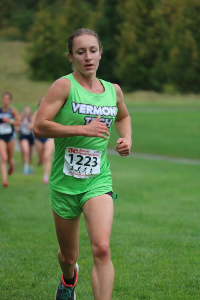 Senior Rebecca Broadbent named YSCC Player of the Week for Women's Cross Country