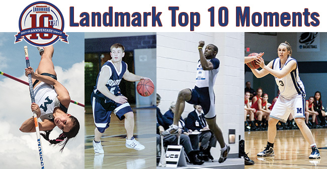 Vote for the Landmark Conference Winter Sports Top Moments