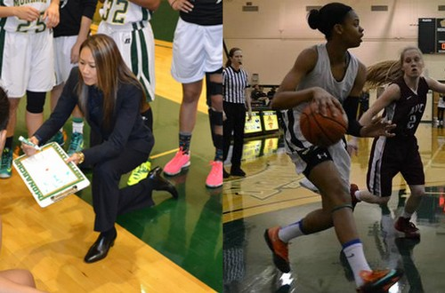 LA Valley Head Coach Monica Hang and sophomore Lunden Junious-Reliford were named the 2014 WSC South Coach and Players of the Year