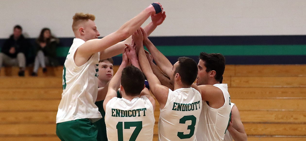 No. 14 Men's Volleyball Earns Split To Close Out Weekend With Historic Win Over No. 4 Kean