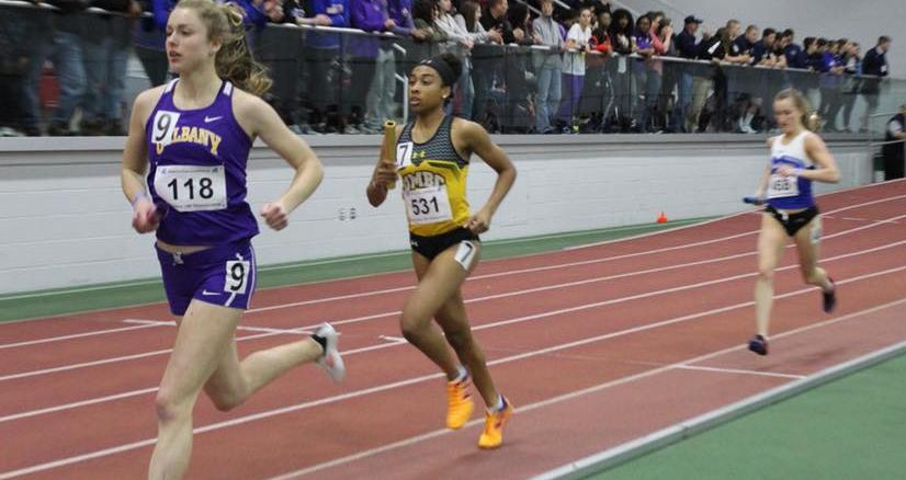 Knake Sets School Record, Track and Field Finishes Indoor Conference Championships