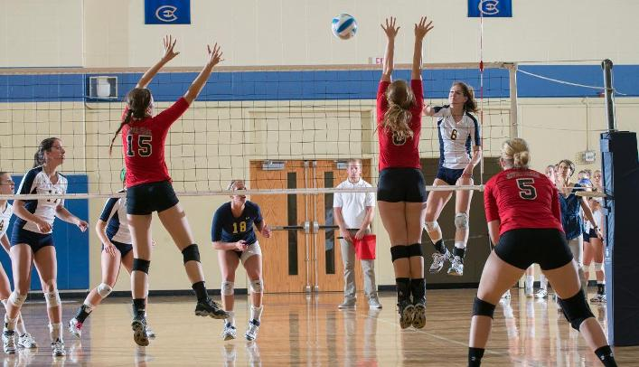 Women's Volleyball Splits on Final Day in Missouri